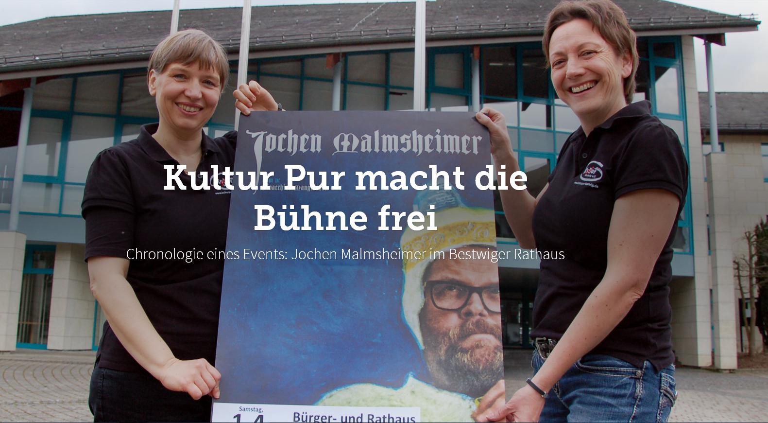 Kultur Pur macht die Bühne frei. Foto: Kultur Pur/Ulrich Bock