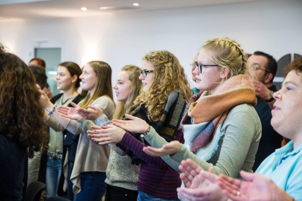 Gospels und Spirituals zu singen bedeutet auch, in Bewegung zu sein.
