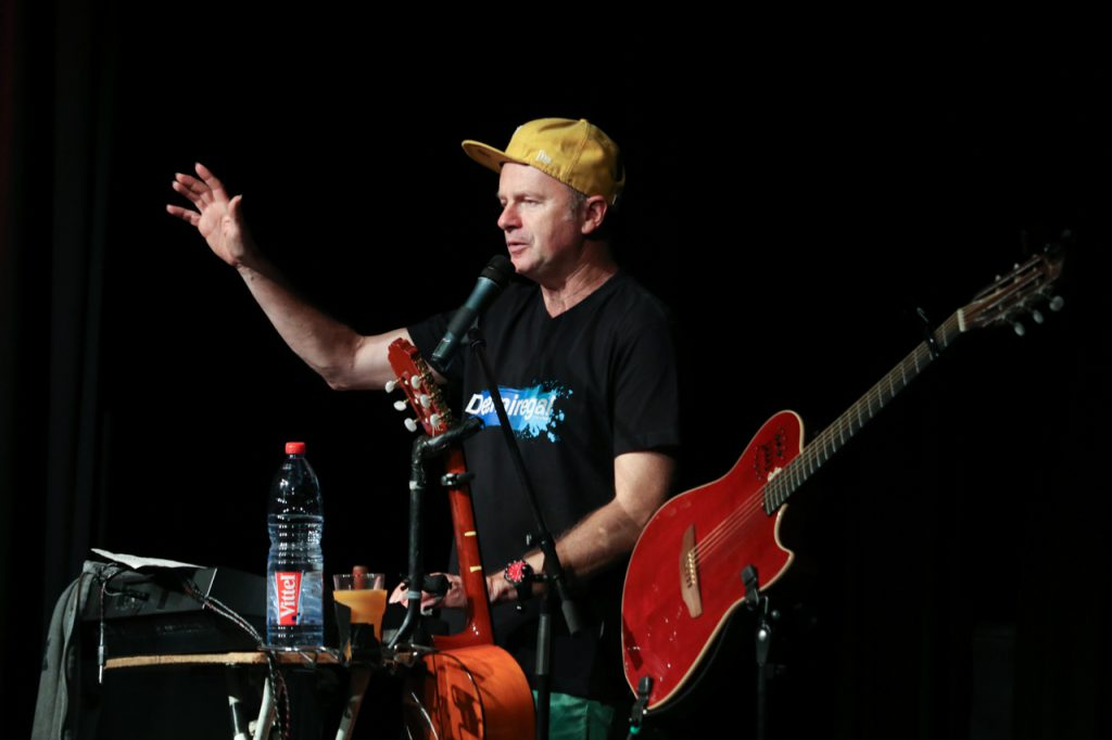 Willy Astor kann auch rappen. Foto: Kultur Pur/Ulrich Bock