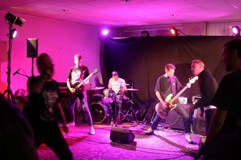Die Band ANGST aus Hannover eröffnete den Abend. Foto: Kultur Pur/Ulrich Bock
