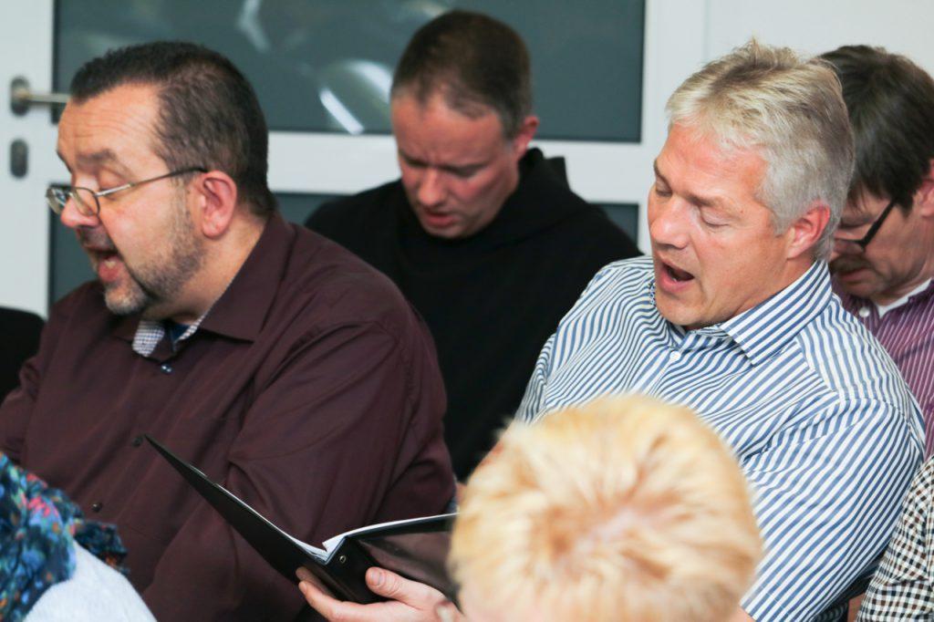Auch Guido und Ralf sind voll bei der Sache. Foto: SMMP/Ulrich Bock