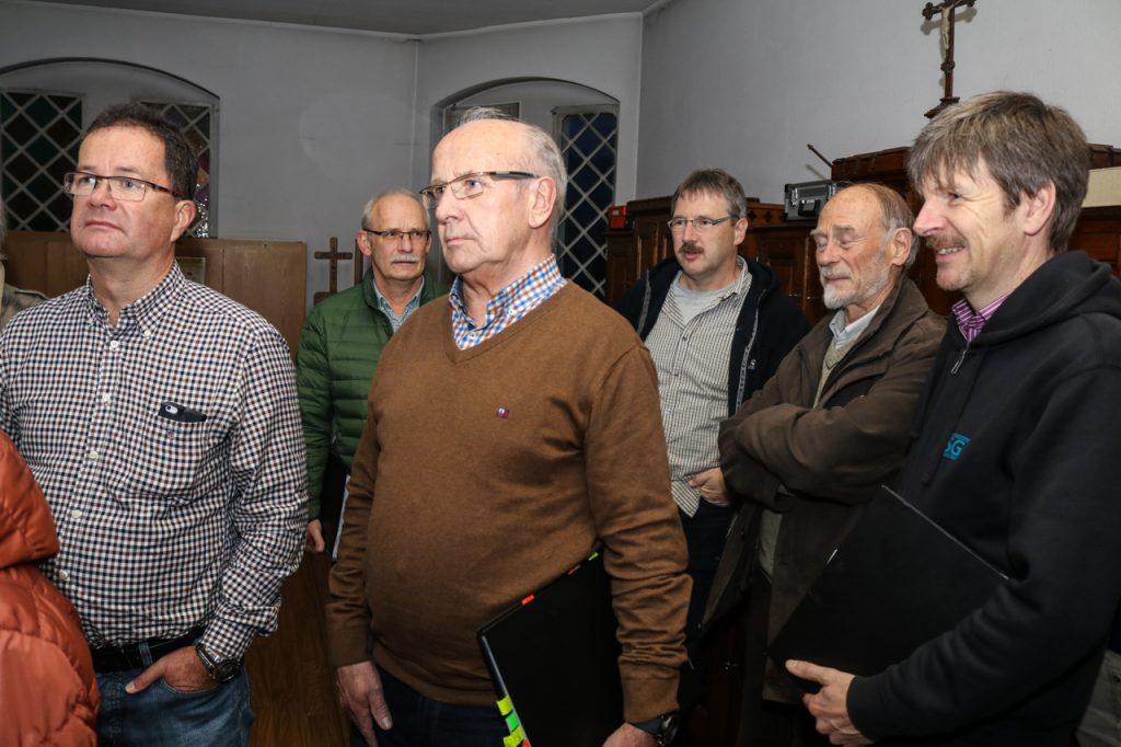 Die Herren versammeln sich unterdessen in der Sakristei. Foto: Kultur Pur/Ulrich Bock
