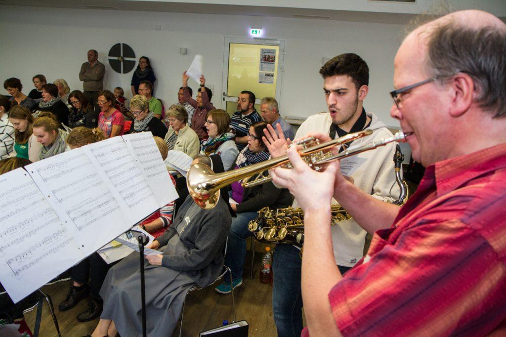 ...ohne Pauken, aber mit Trompeten. Foto: Kultur Pur/Ulrich Bock