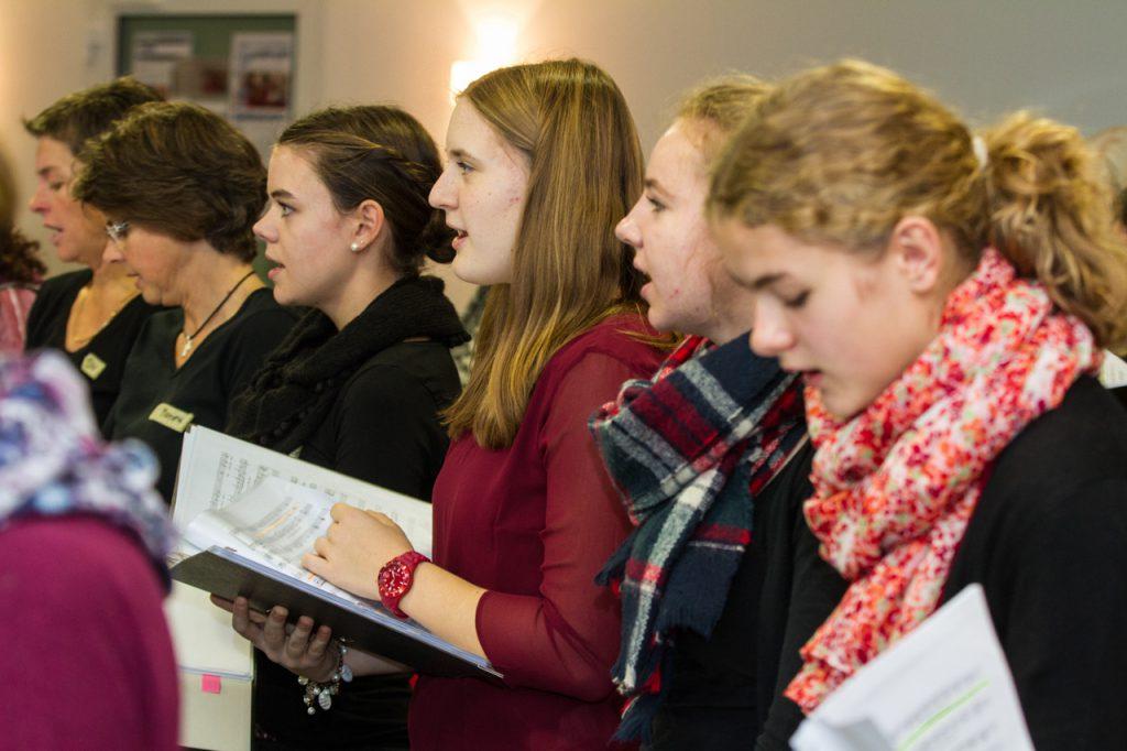 Ein Chor ohne Nachwuchssorgen - wo gibt es das schon? Foto: Kultur Pur/Ulrich Bock