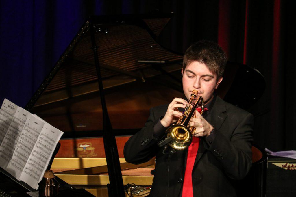 Sean Welsh an der Trompete. Foto: Kultur Pur/Ulrich Bock