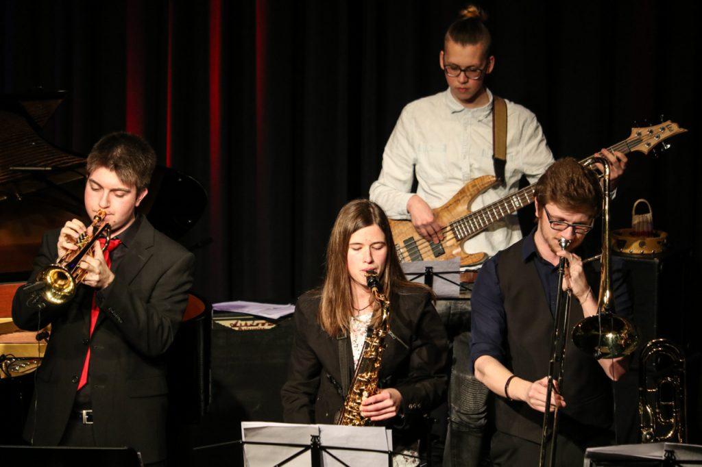 Sean Welsh, Celina Hanfland, Felix Brychcy und Martin Kramer. Foto: Kultur Pur/Ulrich Bock