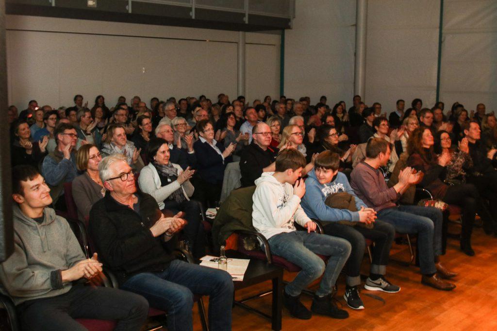 Viel Applaus für die jazz Police. Foto: Kultur Pur/Ulrich Bock