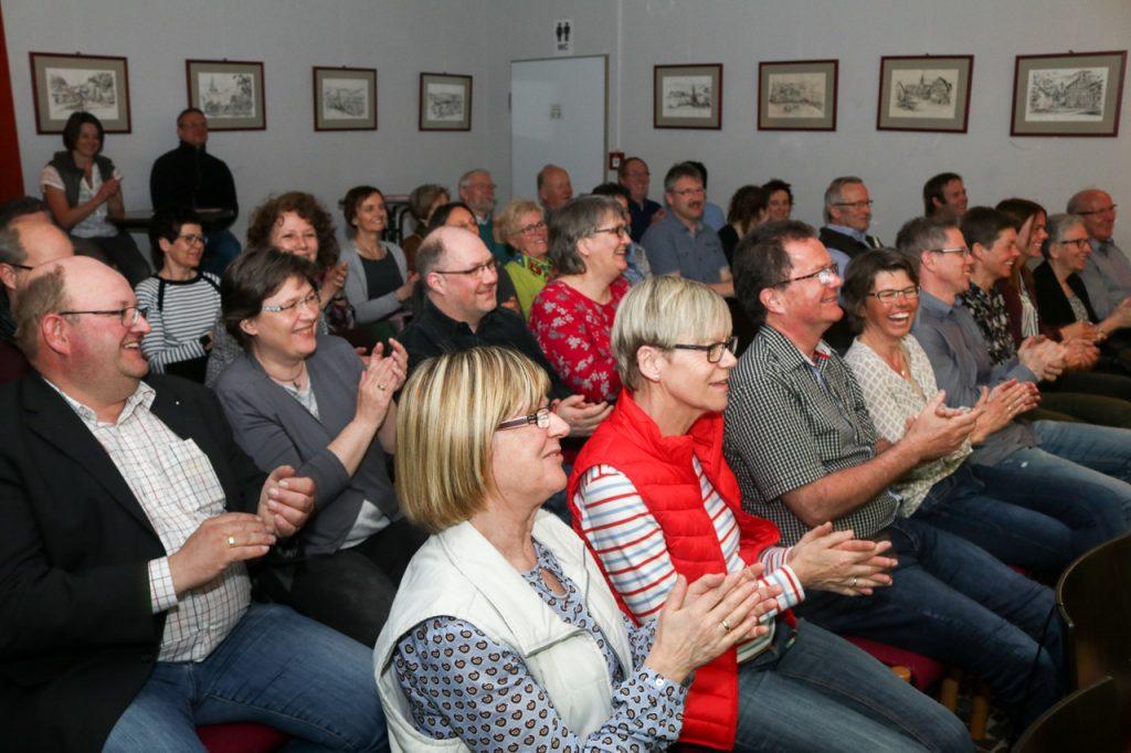"""Bei """"Hey Jude"""" dufte das Publikum mit einstimmen. Foto:. Kultur Pur/Ulrich Bock"""