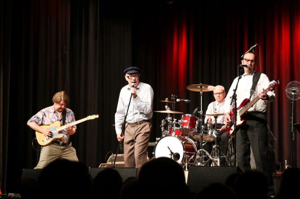 Das Affentheater rockt den Saal.Foto: Kultur Pur/Ulrich Bock