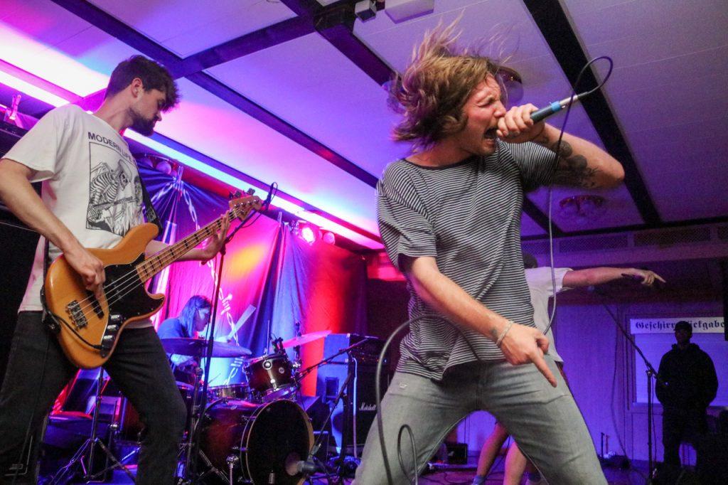 Slope aus Duisburg begeisterte als zweite Band an diesem Abend. Foto: Kultur Pur/Ulrich Bock