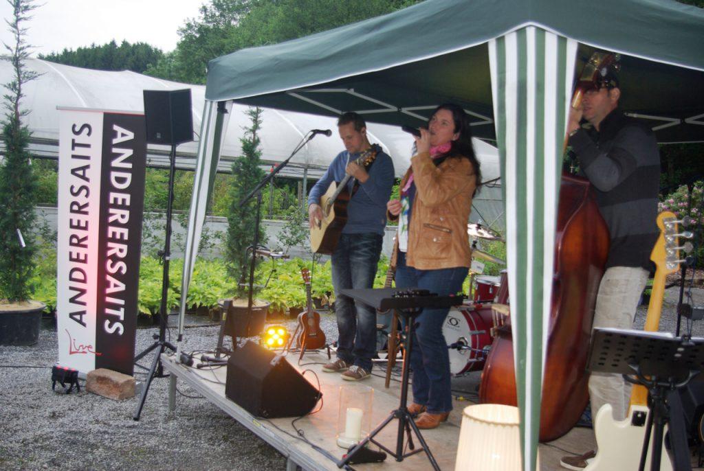 Sängerin Anja Jakob und Gitarrist Andreas Franke. Foto: Kultur Pur/Ulrich Bock