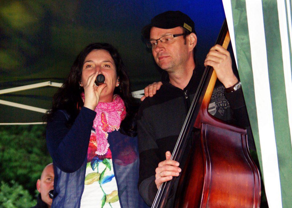 Sängerin Anja Jakob und Bassist Michael Klevorn. Foto: Kultur Pur/Ulkrich Bock