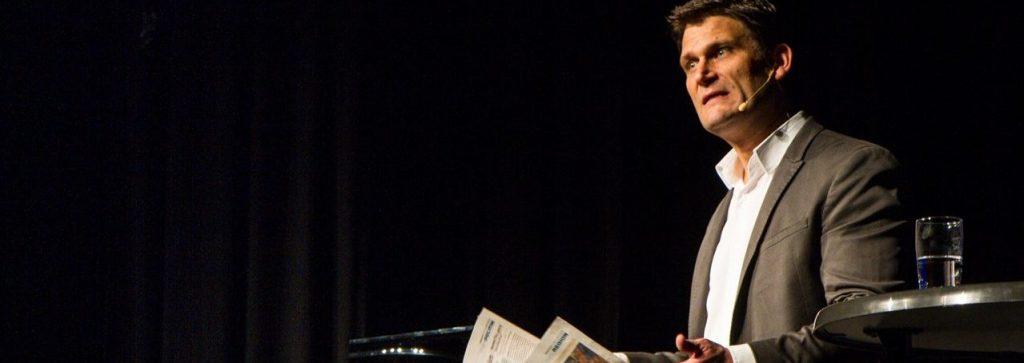 Christian Ehring reicht der Blick in die Tageszeitung.