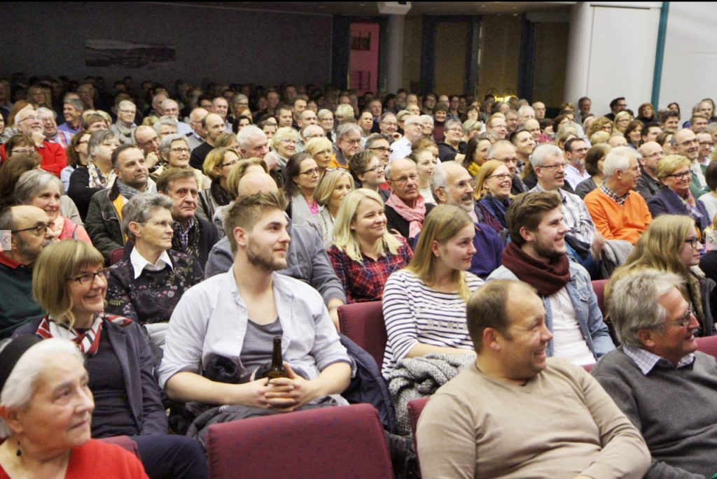 Ausverkauft: 400 Zuschauer verfolgten den Auftritt von Sebastian Pufpaff