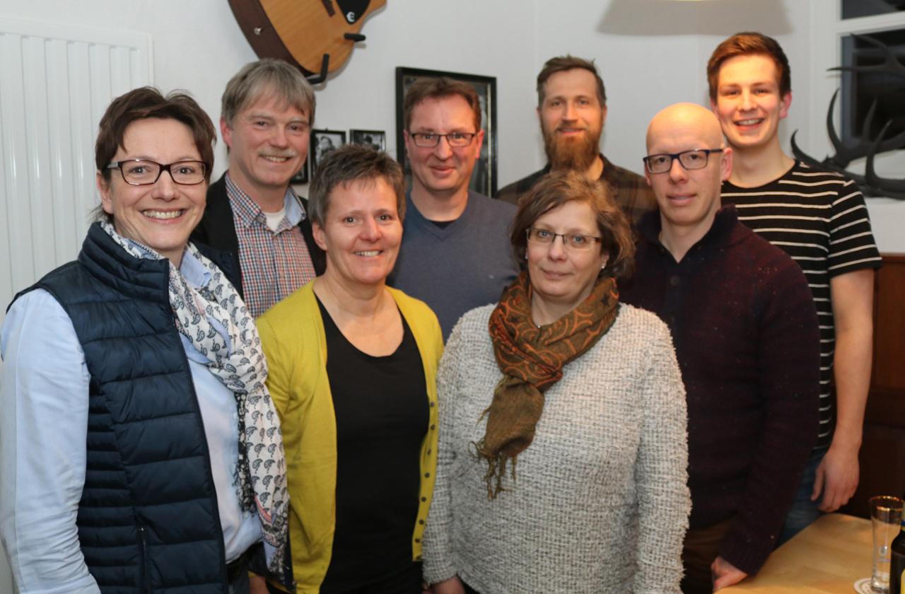 Der Vorstand von kultur Pur bis zum Frühjahr 2019.