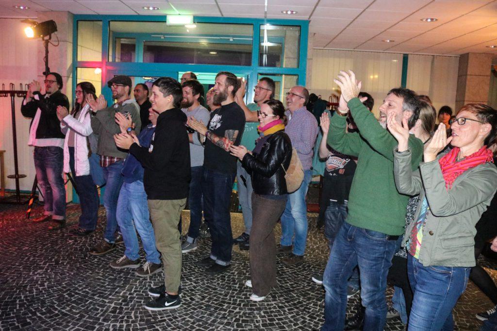 Viel Applaus für eine g...roßartige Show. Foto: Kultur Pur/Ulrich Bock