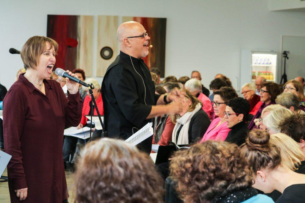 Beate, Carlos und Ingrid geben den Ton an. Foto: Kultur Pur/Ulrich Bock