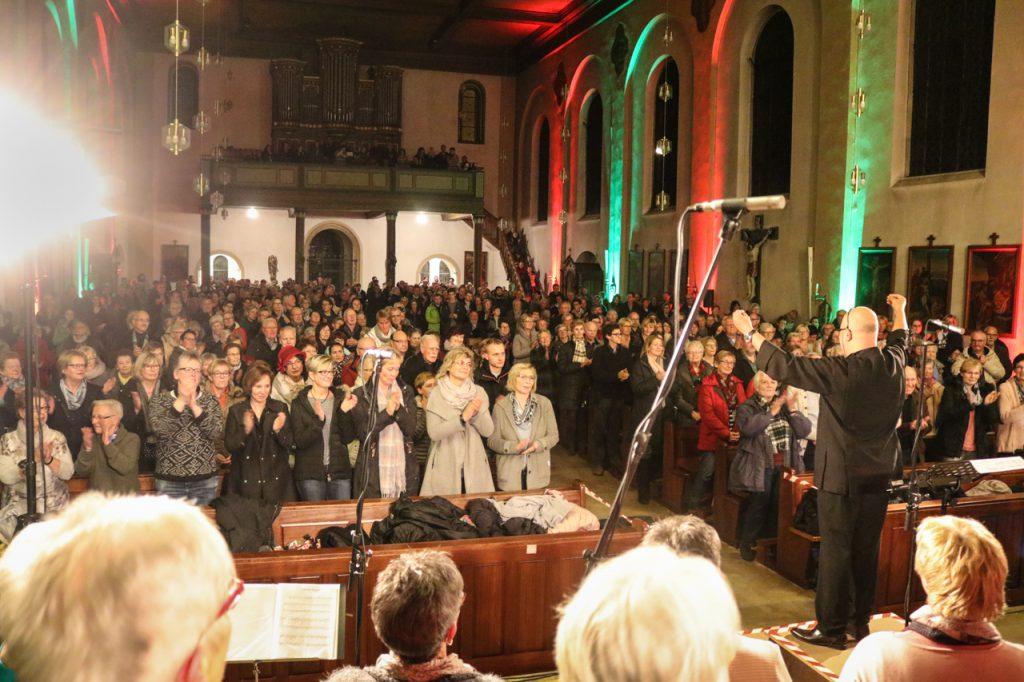 Viel Beifall gab es zum Abschluss des 80-minütigen Konzertes. Foto: Kultur Pur/Ulrich Bock