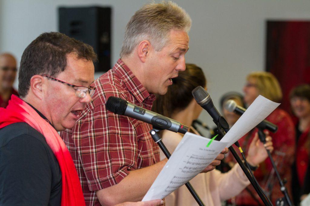 Uli und Ralf als Solisten. Foto: Kultur Pur/Ulrich Bock