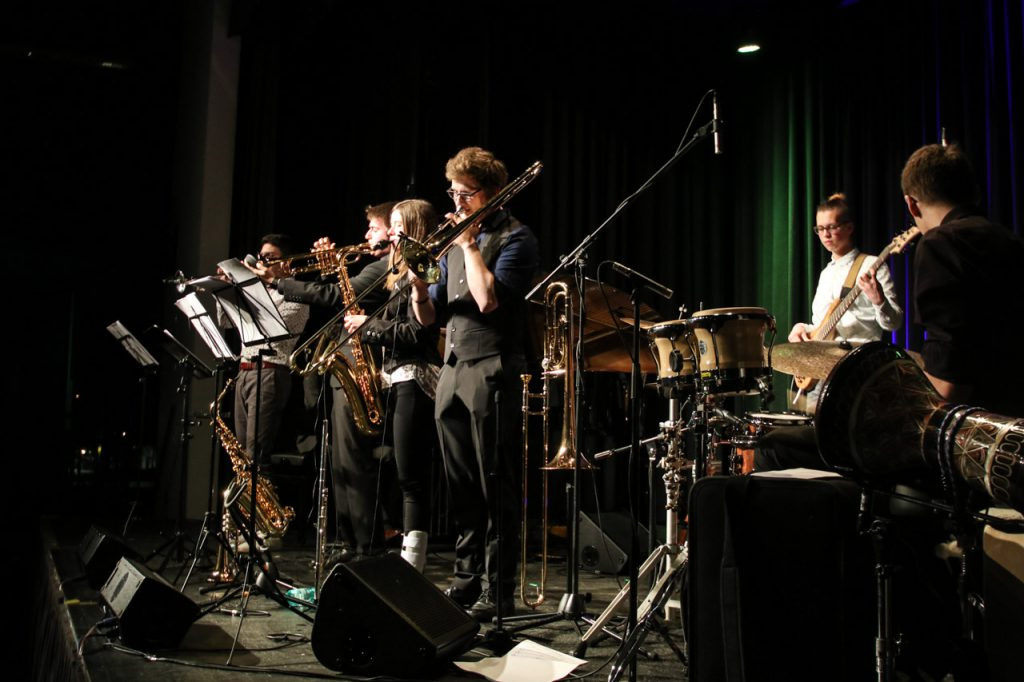 Die Jazz Police spielt in Bestwig groß auf. Foto: Kultur Pur/Ulrich Bock