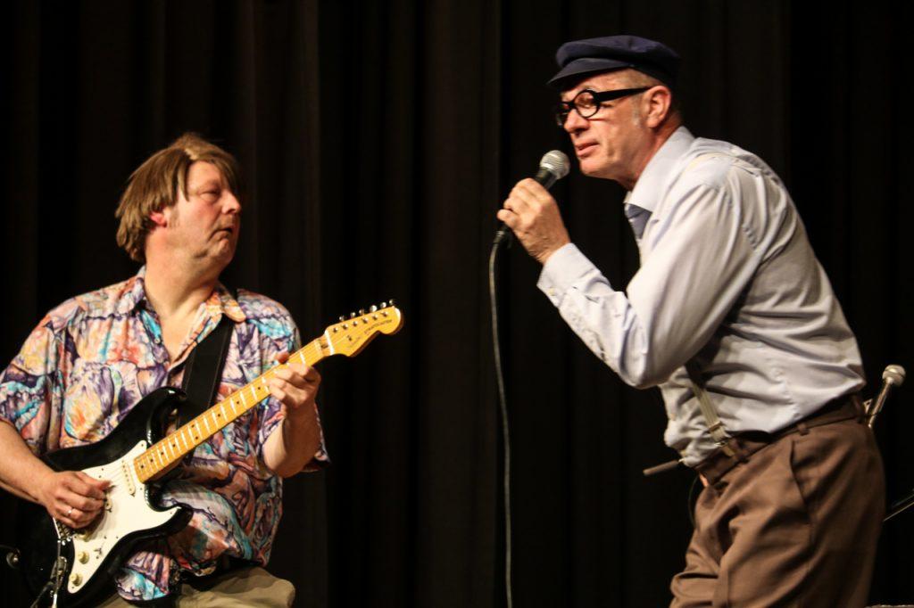 Ozzy und Herbert rocken sich in Ekstase. Foto: Kultur Pur/Ulrich Bock