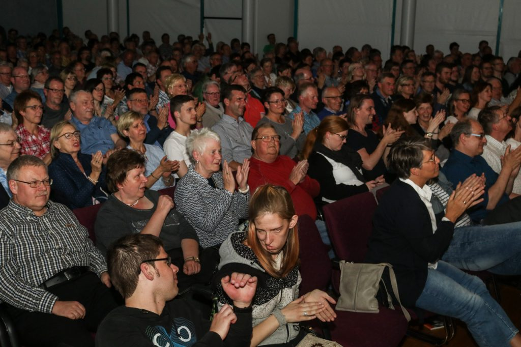 Das Publikum ist begeistert. Foto: Kultur Pur/Ulrich Bock