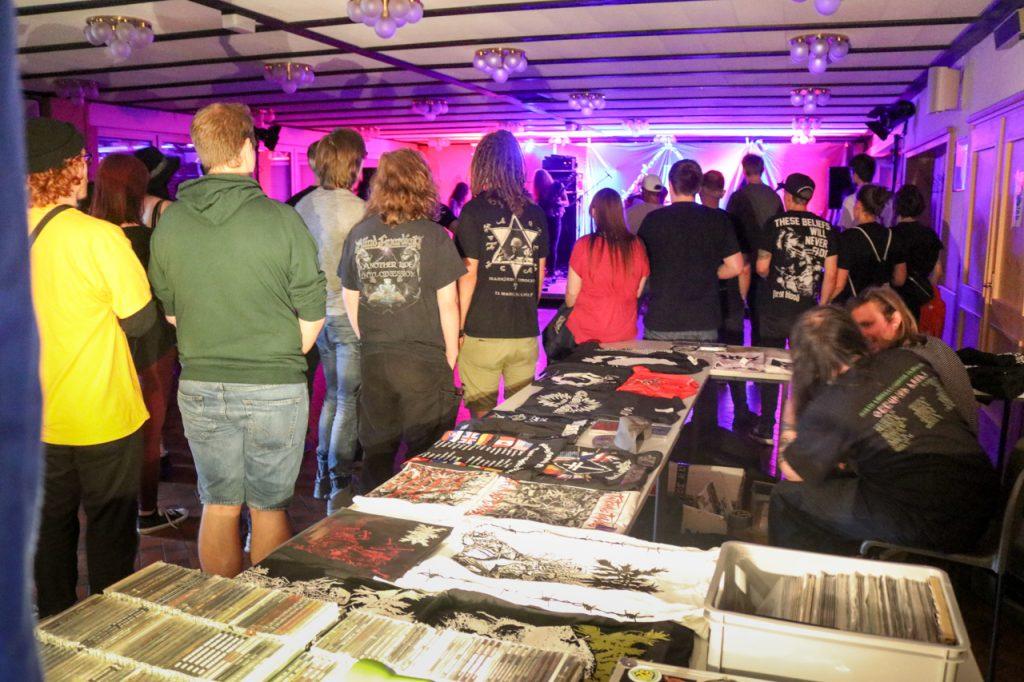 Ratlord aus Düsseldorf eröffnete den Abend in der Andreasklause. Foto: Kultur Pur/Ulrich Bock