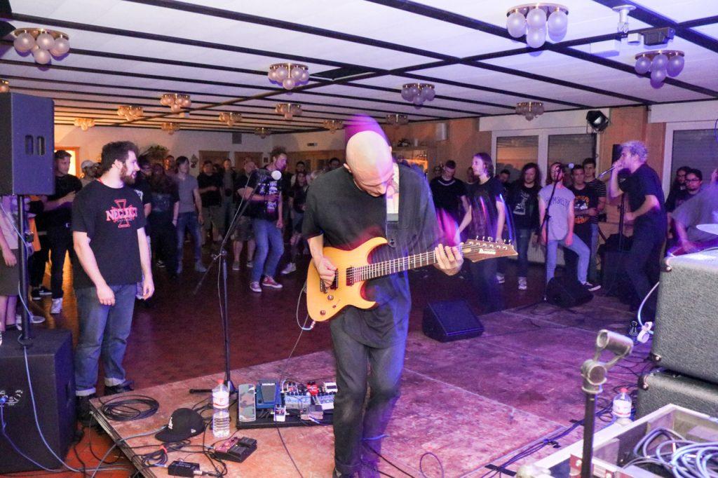 Die Gruppe Vein tourt mit Twitching Tongues durch Europa und trat am Freitagabend als dritte Band auf. Foto: Kultur Pur/Ulrich Bock