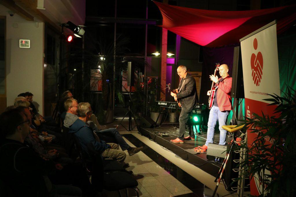 Die Sparkasse bietet ein wunderbares Ambiente für die etwas kleineren Veranstaltungen von Kultur Pur. Foto: Kultur Pur/Ulrich Bock
