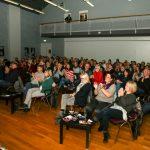 Die Zuschauer spenden lange Applaus. Foto: Kultur Pur/Ulrich Bock