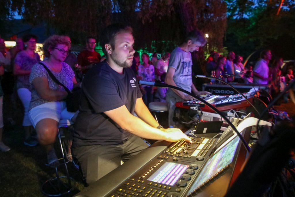 Die Technik spielt mit. Foto: Kultur Pur/Ulrich Bock