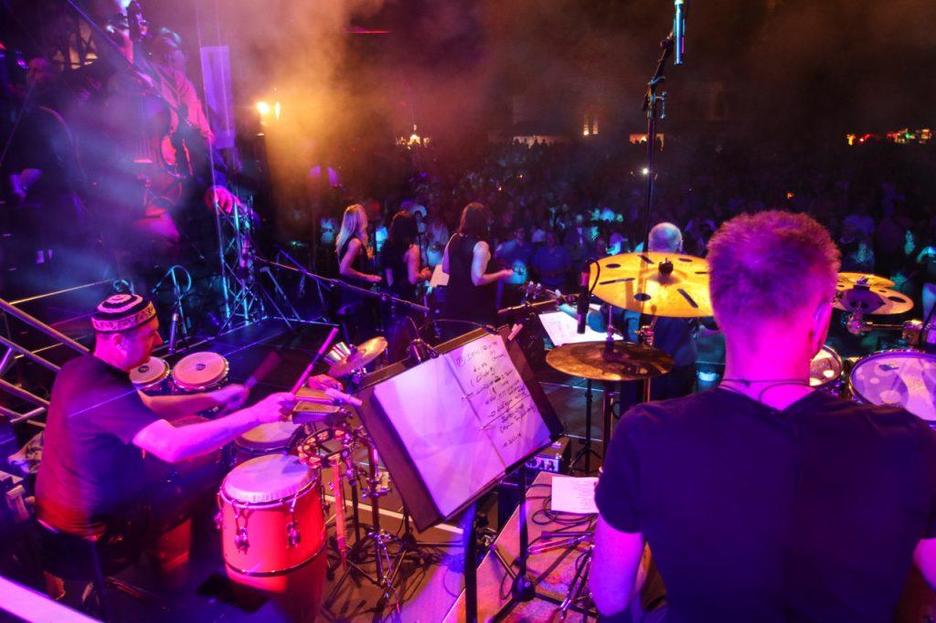 Der Blick von der Bühne. Foto: Kultur Pur/Ulrich Bock