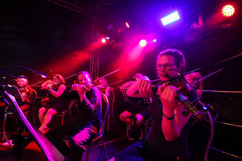 17 Streicher gehören zum Ensemble. Sie spielen Geige, Bratche und Cello. Foto: Kultur Pur/Ulrich Bock