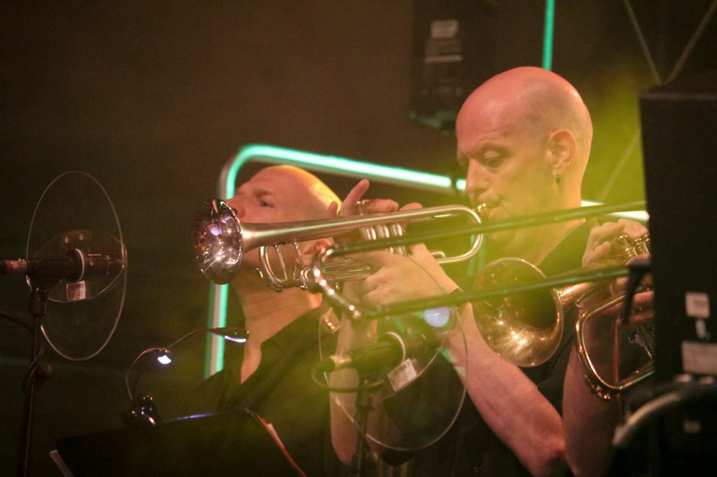 Trompete im Einsatz. Foto: Kultur Pur/Ulrich Bock