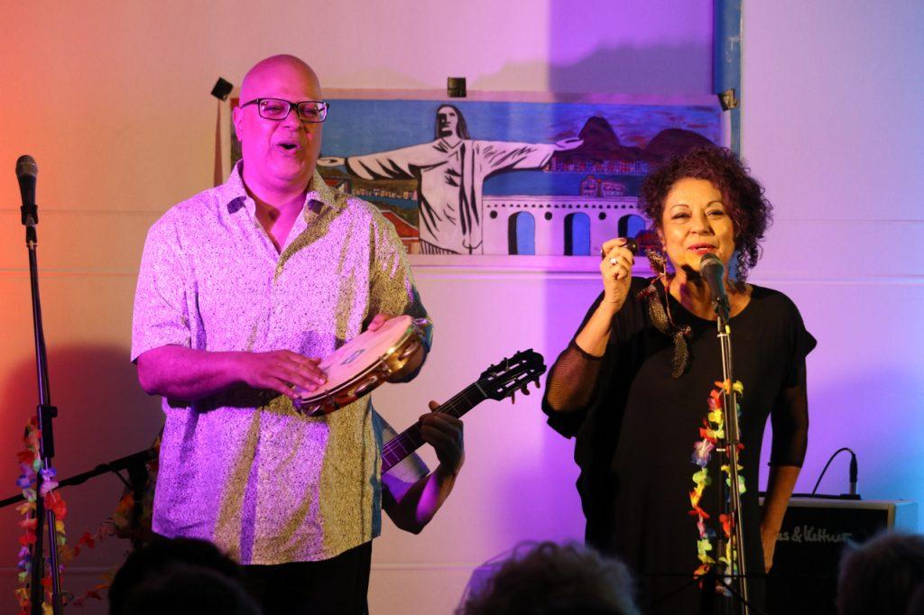 Carlos Garcia und Andreia Carneiro.  Foto: Kultur Pur/Ulrich Bock