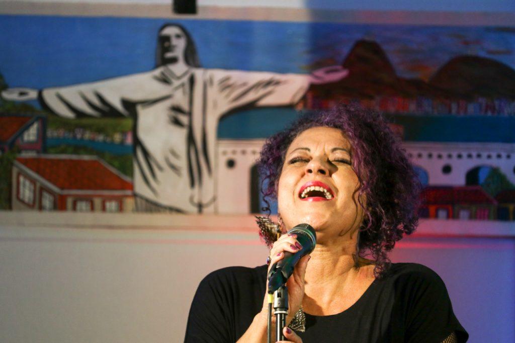 Die brasilianische Sängerin Andreia Cerneiro ist nur für wenige Wochen in Deutschland. Foto: Kultur Pur/Ulrich Bock