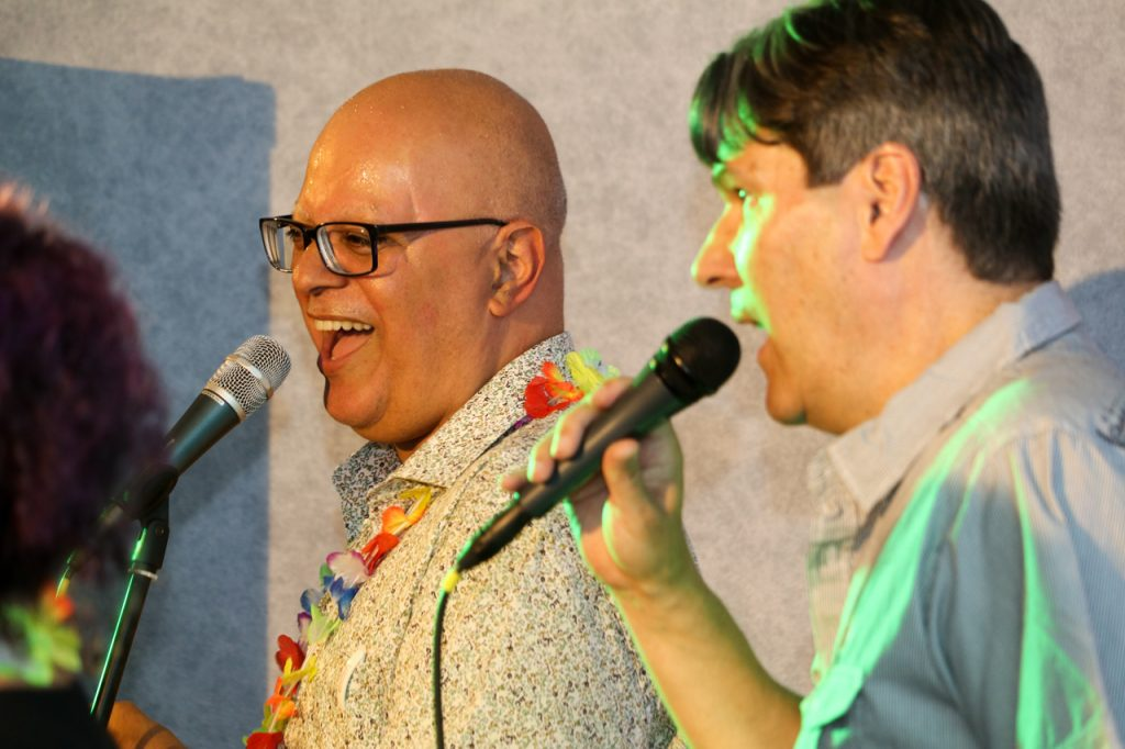 Carlos und Eduardo geben noch einmal alles. Foto: Kultur Pur/Ulrich Bock