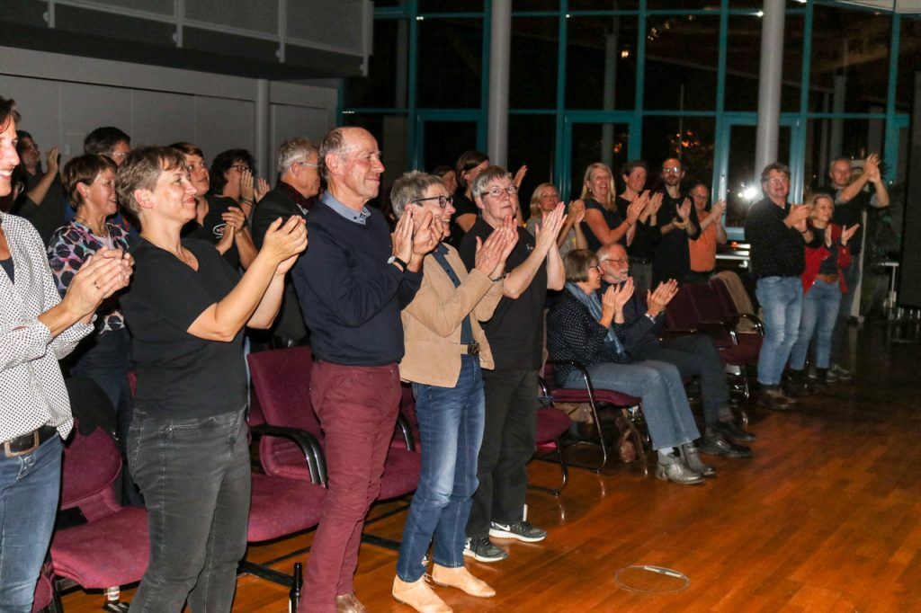 Die Vorstellung hätte ein größeres Publikum verdient. Das dankte aber zum Schluss mit stehenden Ovationen. Foto: Kultur Pur/Ulrich Bock
