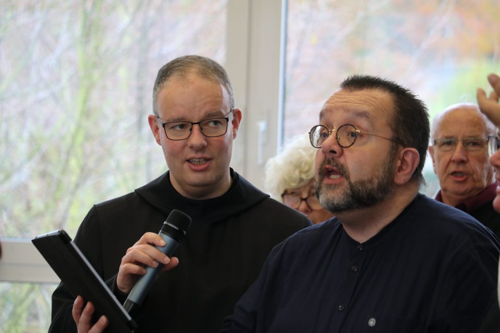 Erasmus und Guido treffen den Ton. Foto: Kultur Pur/Ulrich Bock