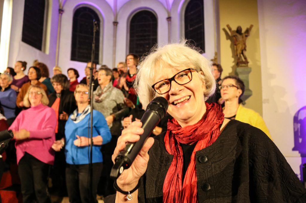 Was wären die Altstimmen ohne Ingrid? Foto: Kultur Pur/Ulrich Bock