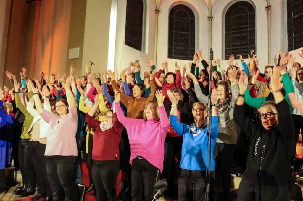 Das lezte Lied: Glory to God. Foto: Kultur Pur/Ulrich Bock