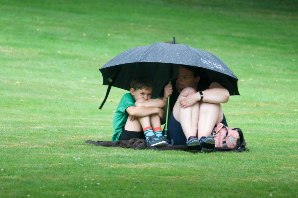 Es regnet und regnet und regnet...